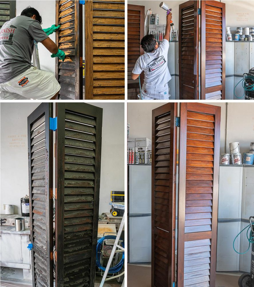 Woodwork in Our Shop