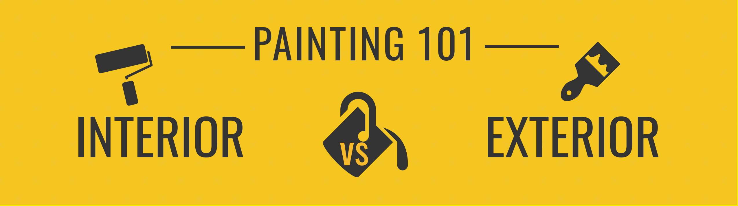 Painting 101: Interior vs. Exterior